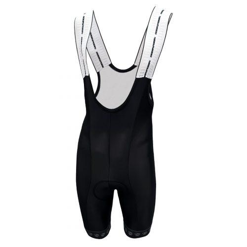 culotte corto tirantes negro badana gel